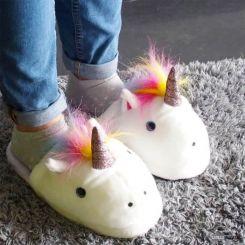 Zapatillas Unicornio de talón descubierto