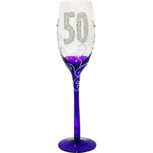 Copa Champagne transparente 50 años
