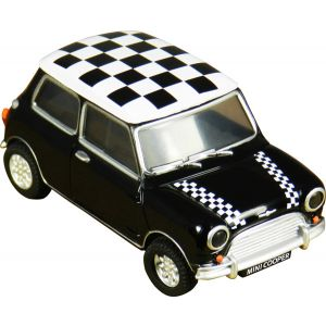 USB 4Gb MINI Cooper negro chequere