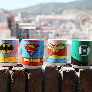 Set 4 tazas Liga de la Justicia