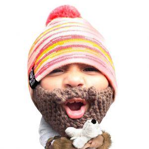 Gorro con barba para niños Allie