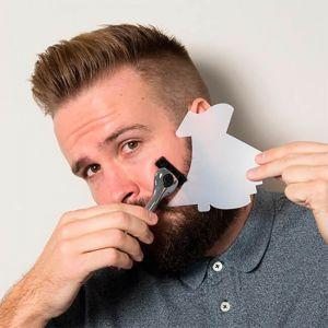 Plantilla para hacerte 7 tipos de barba