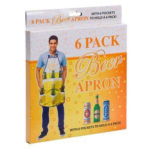 Delantal para cervezas 6 Pack
