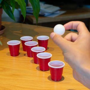 Funfingers Beer Pong. Mini juego de beber Beer Pong