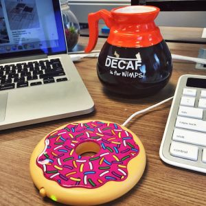 USB Calienta tazas Donut