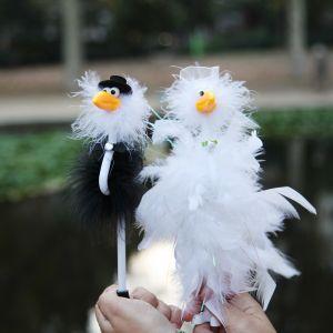 Bolígrafo novios pollos de boda