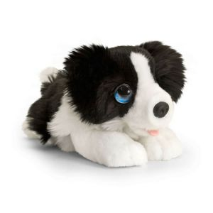 Cachorro Border Collie de peluche 32cm