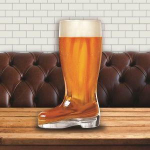 Jarra de cerveza con forma de Bota