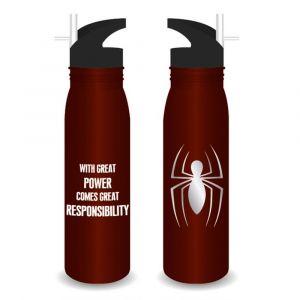 Botella metálica de Spiderman, Marvel