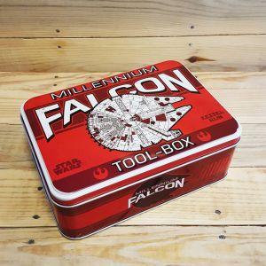 Caja de metal Halcon Milenario