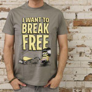 """Camiseta """"I want to break free"""""""