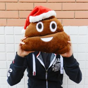 Cojínes emoticonos de navidad