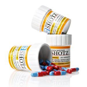 Set 3 Chupitos Prescripción médica