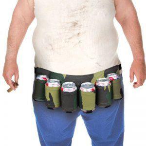 Cinturón para latas bebida