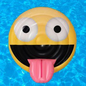 Colchoneta Emoticono sonrisa hinchable