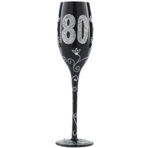 Copa Champagne negra 80 años
