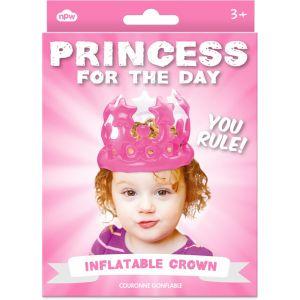 """Corona hinchable """"Princesa por un día"""""""