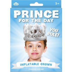 """Corona hinchable """"Príncipe por un Día"""""""