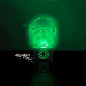 Llavero Death Trooper con luz