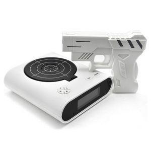 Despertador pistola con infrarrojos