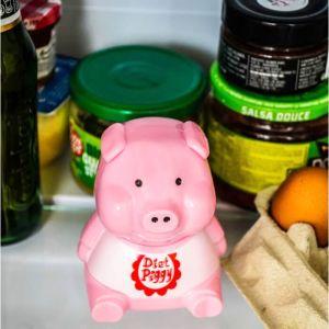 Diet Piggy, cerdito de nevera con sonido para evitar atracones