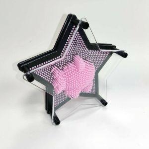 Molde clavos con forma de estrella