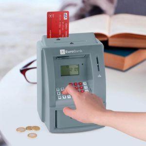 Hucha Eurobank cajero automático