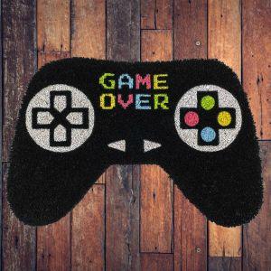 Felpudo Game Over con forma de mando de videoconsola
