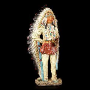 Figura  Indio Americano Pipa de la Paz