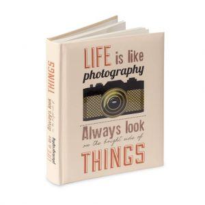 Álbum de Fotos Life con 48 caras autoadhesivas