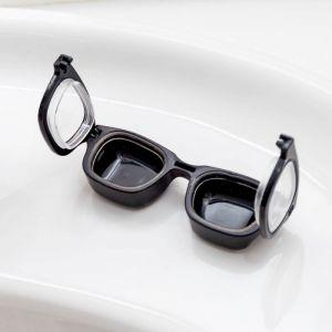 Estuche para lentillas gafas vintage