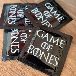 Condón, preservativo Game of Bones