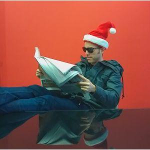 Gorro Papá Noel canta y baila