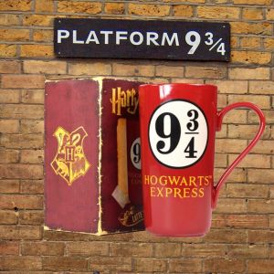 Taza alta andén 9 y 3/4 Hogwarts Express