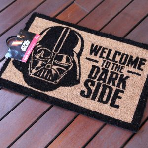 "Felpudo Star Wars ""Welcome to the Dark Side"""