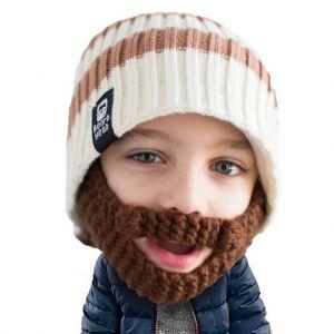 Gorro con barba para niños Scruggler