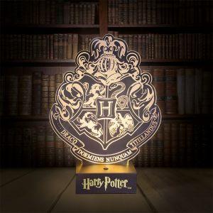 Lámpara ambiental escudo Hogwarts: Harry Potter