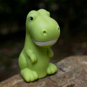 Lámpara ambiental Dinosaurio cambia de color
