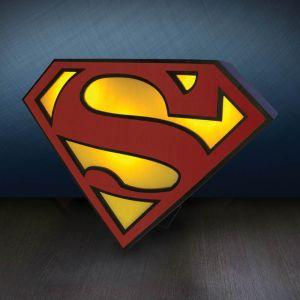 Lámpara Superman Logo DC Comics
