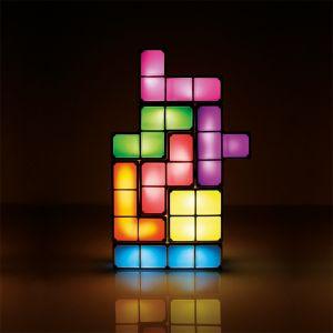 Lámpara personalizable Tetris