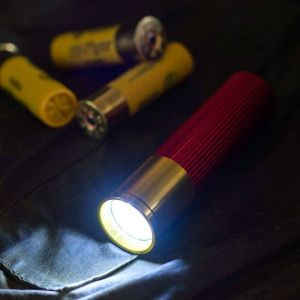 Linterna cartucho de escopeta
