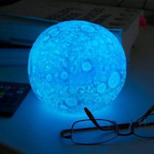 Lámpara ambiental Luna Cambia de Color