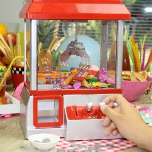 Máquina para atrapar caramelos