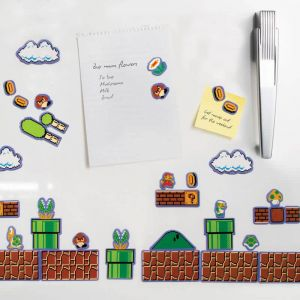 Set 80 imanes de nevera Super Mario Bros