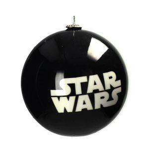 Bola de navidad Star Wars logo