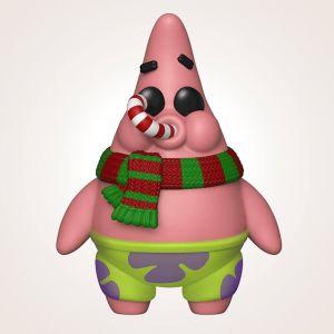 Figura Funko Pop! Bob Esponja: Patricio Estrella navideño