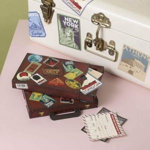 Pegatinas vinilo de Viaje para decorar estilo vintage
