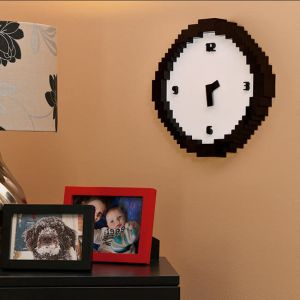 "Reloj de pared retro ""Pixel time"""