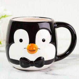 Taza con relieve pingüino de Mary Poppins