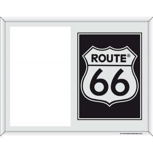 Portafoto de La Ruta 66 modelo Escudo